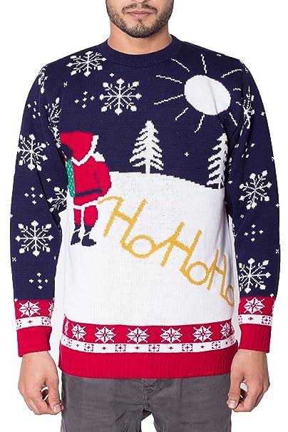 design senza tempo 5e36f fc06b Noroze - Maglione natalizio, unisex, per uomo, a maglia, con ...