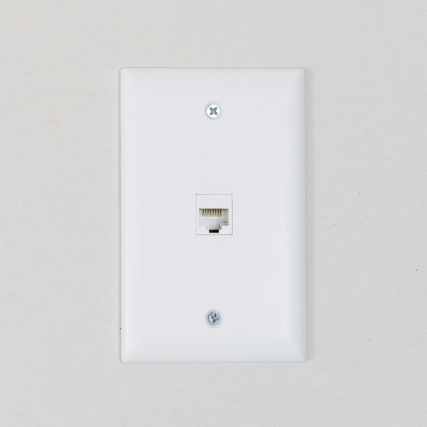 Legrand On Q Wp3475wh10 Cat5e Rj45 Quick Connect Keystone Insert Wall Jack Wiring Diagram R 568 With 110 Punch Down 10 Pack White