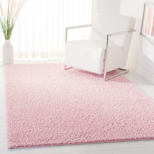 Safavieh Primo Shag Collection PRM300U Solid 1.2-inch Thick Area Rug