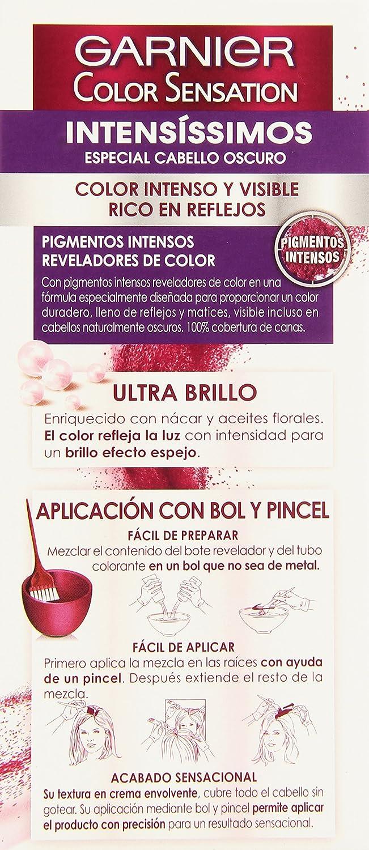 Coloración Color Sensation nº 6.46 Cobre intenso de Garnier: Amazon ...