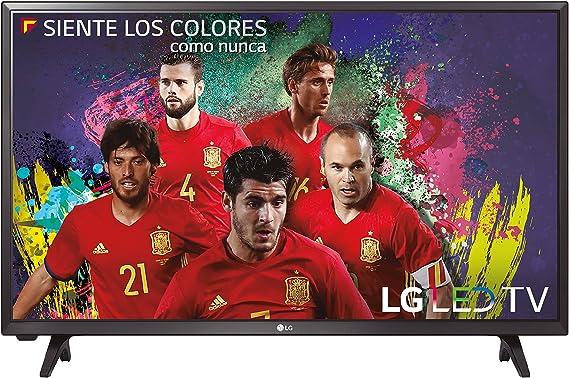 LG 32LJ500V - Televisor Full HD con sonido 2.0, 2 x HDMI, 1 x USB, color negro, 1920 x 1080, 81 cm (32