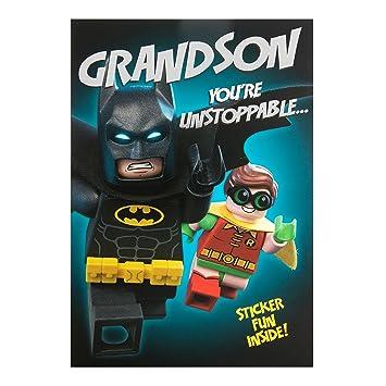 Hallmark lego batman grandson birthday card stickers medium hallmark lego batman grandson birthday card stickers medium bookmarktalkfo Gallery