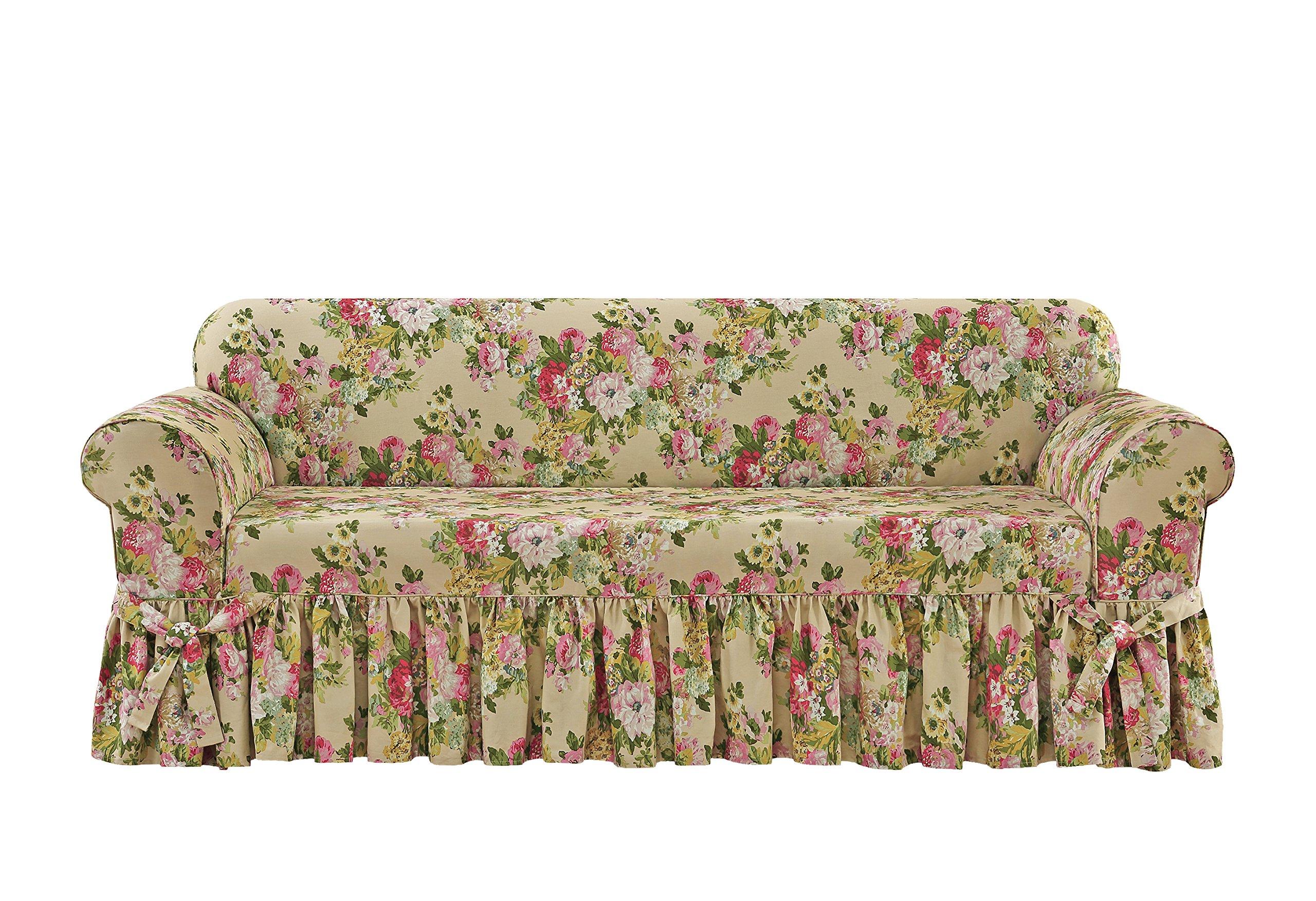 Surefit SF46993 One Piece Sofa Slipcover, Bliss by Surefit