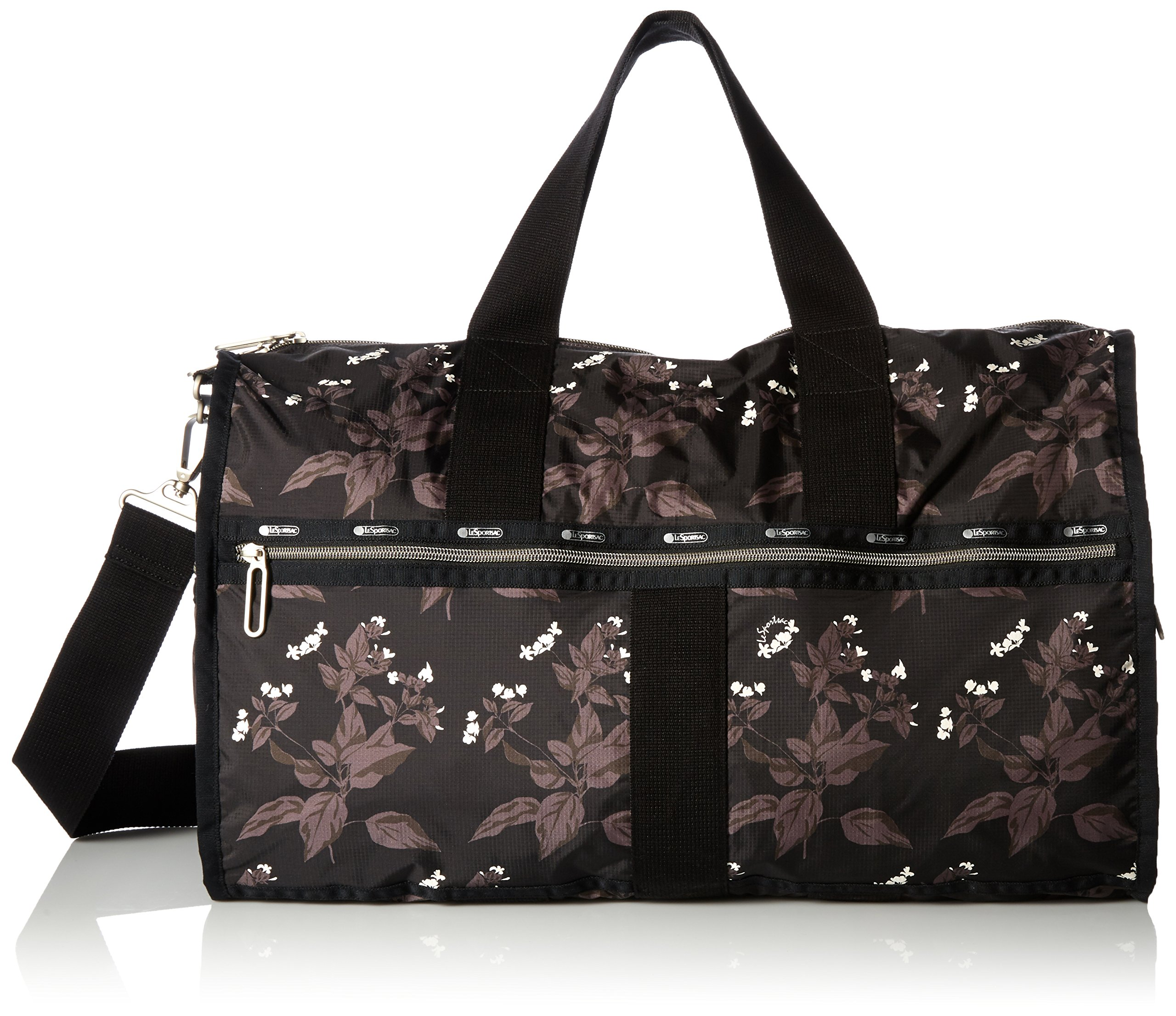 LeSportsac Women's Essential Large Weekender, Botanical Black