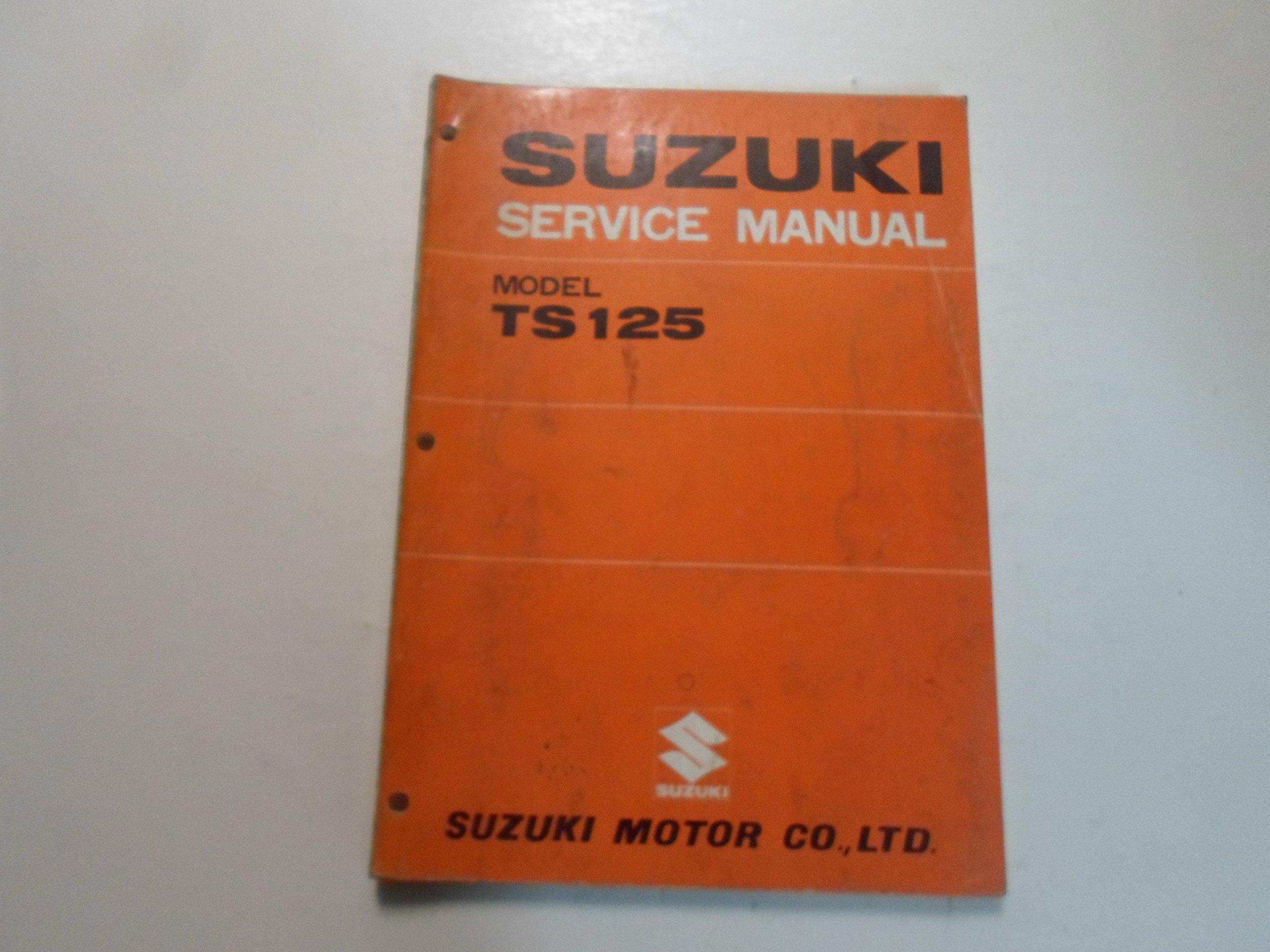 Suzuki Ts 125 Wiring Diagram Page 5