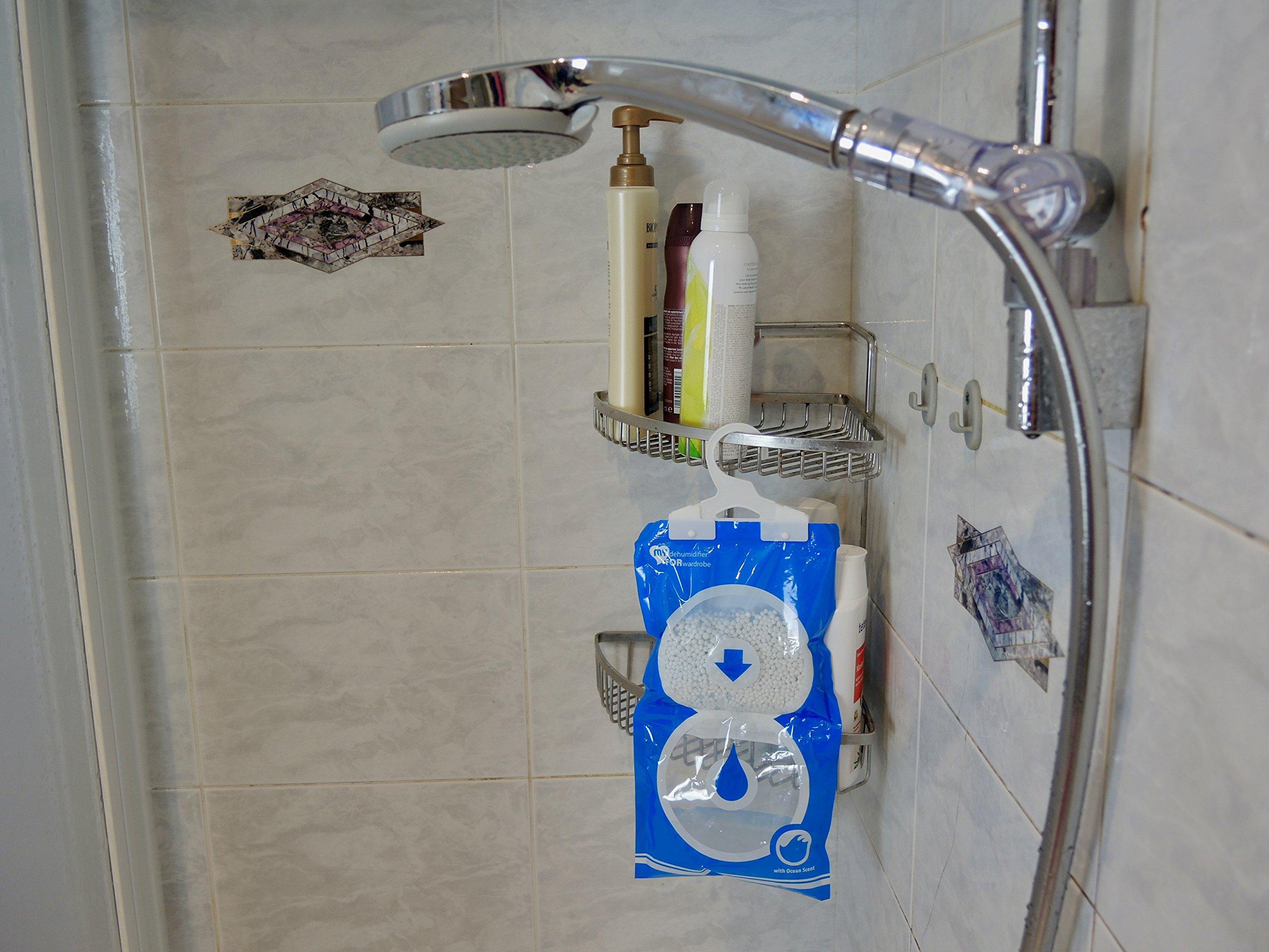 4 | 6 | 8 sachets déshumidifiant parfumé pour armoire |MY DEHUMIDIFIER FOR WARDROBE | anti humidité et moisissure | absorbeur d\'humidité pour caravanes, garde-robe, sécher à sec | 6 pièce