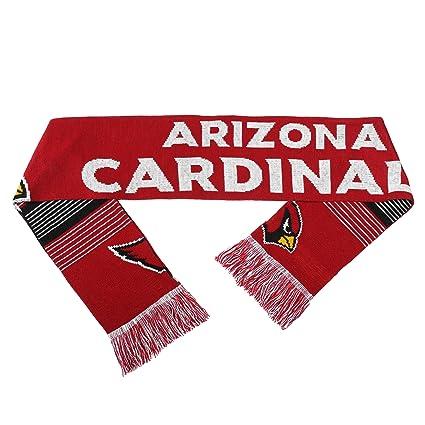 f22fe7ada0cf Amazon.com   Arizona Cardinals Reversible Split Logo Scarf   Sports ...