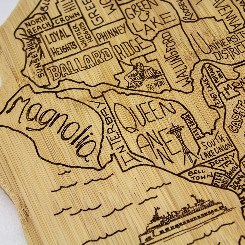 Manhattan Totally Bamboo 20-8007MHTN Cutting Board Brown