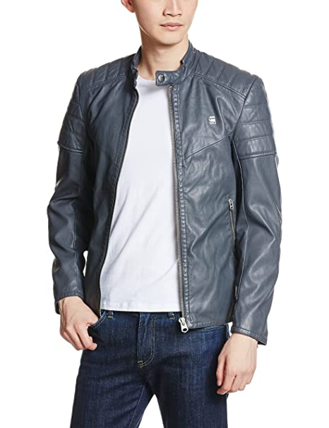G-Star Suzaki, Chaqueta Hombre, Azul (night), L(UK
