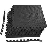 $27 » BalanceFrom Puzzle Exercise Mat with EVA Foam Interlocking Tiles for Exercise, MMA, Gymnastics…