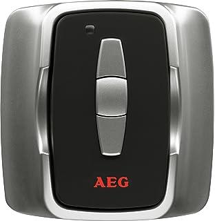 AEG IR Funk S Accesorio para calefacción central Negro, Plata