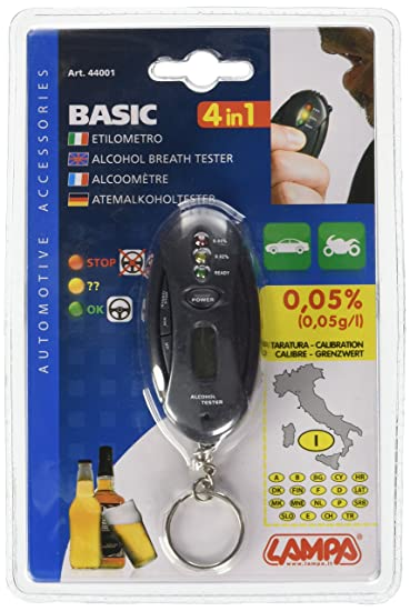 Amazon.com: Lampa Alcohol Tester con llavero: Automotive