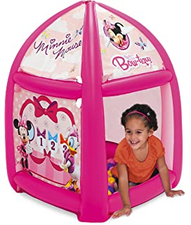 Minnie Mouse Pretty Bow Ball Pit, 1 Inflatable & 20 Sof-Flex Balls,