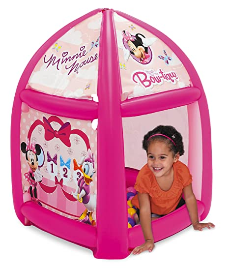 Disney Minnie Mouse Pretty Bow Playland with 20 Balls  sc 1 st  Amazon.com & Amazon.com: Disney Minnie Mouse Pretty Bow Playland with 20 Balls ...