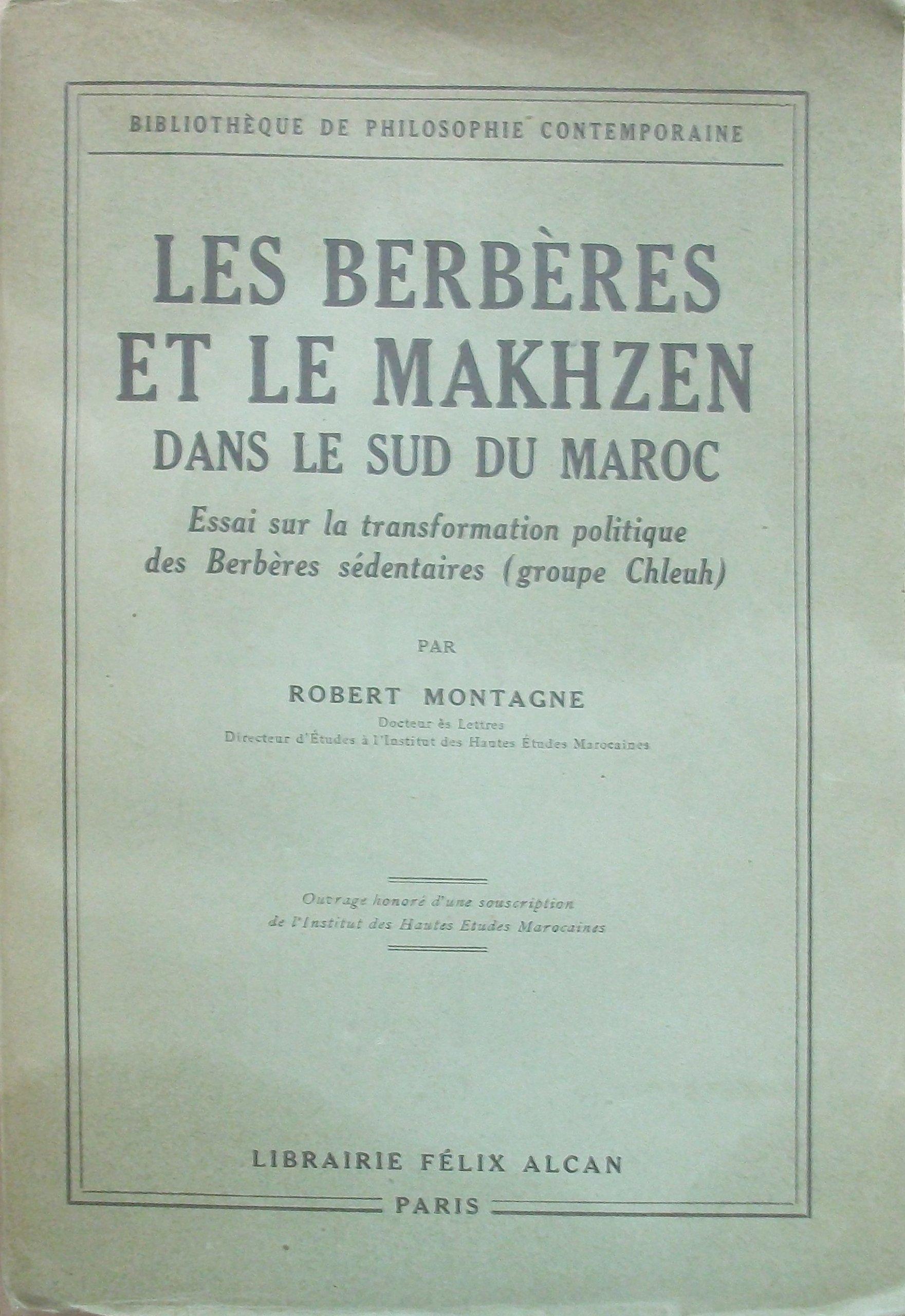 robert montagne les berbères et le makhzen pdf