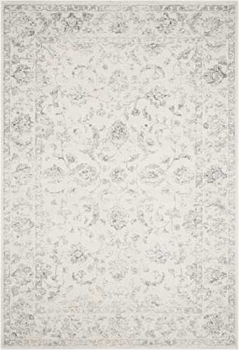Safavieh Carnegie Collection CNG621D Vintage Cream and Grey Distressed Area Rug 6 7 x 9 2