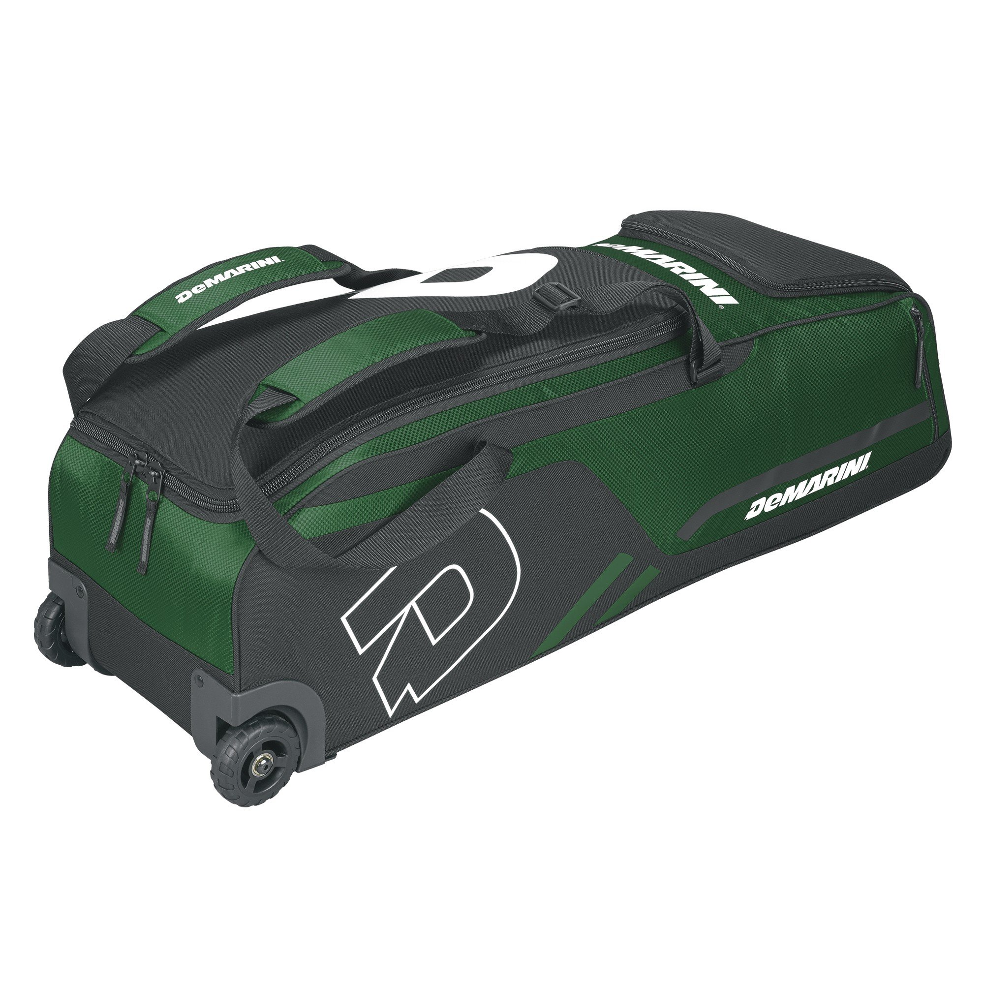 DeMarini Momentum Wheeled Bag, Dark Green by DeMarini