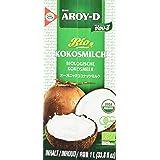 Aroy-D BIO Kokosnussmilch (aus Thailand, Fettgehalt ca. 17%, naturbelassen und ohne Zusatzstoffe) 2er Vorteilspack à 1 l