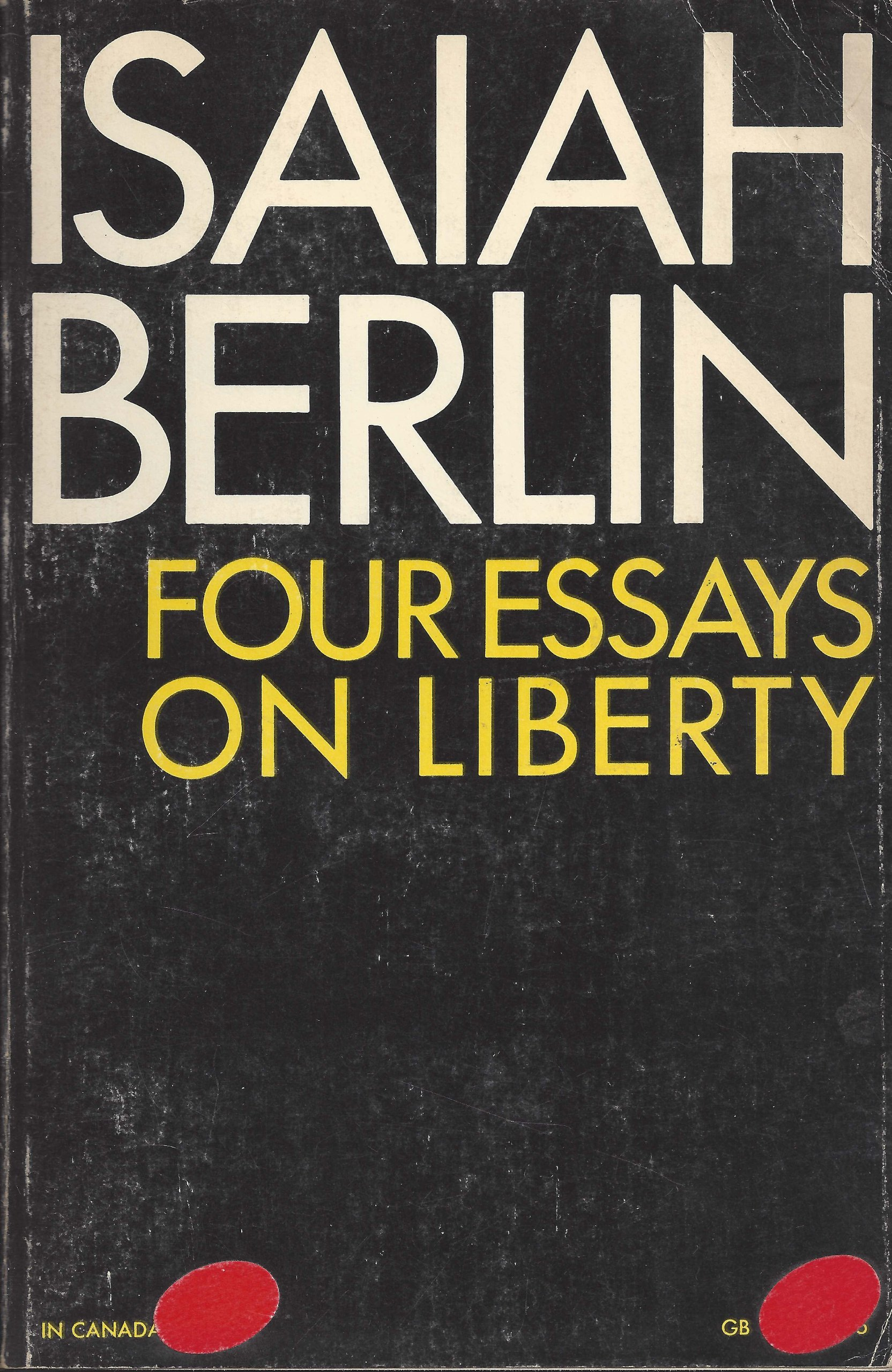 four essays on liberty isaiah berlin com four essays on liberty isaiah berlin 9780195012422 com books