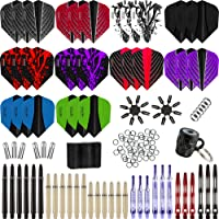 Harrows - Mega Value Pack - RRP £24.95 - 150+ Piece - Flights, Shafts, Rings, Springs, Savers, Sharpener