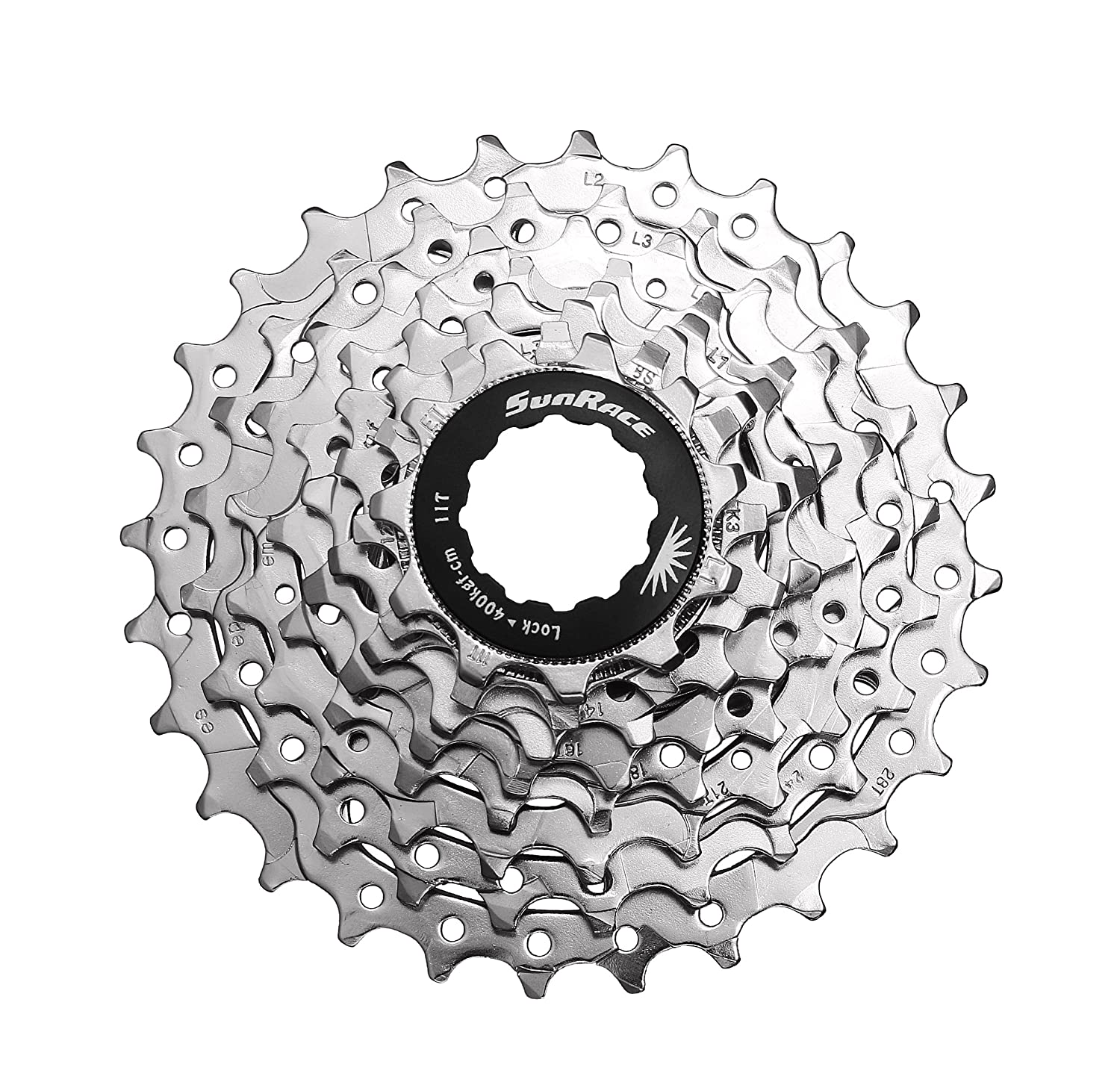 Sporting Goods Sunrace Cassette Csm66 12-34 8 Speed Nickel Cassettes, Freewheels & Cogs