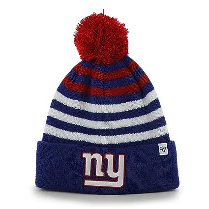 8f168507188 Amazon.com    47 NFL Teen-Boys Cuff Knit Hat with Pom   Sports ...