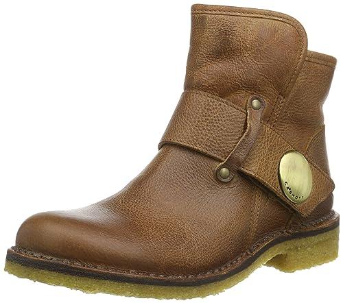 5d6b2374eaec3a Ca Shott Damen A14065 Biker Boots Braun (Camel 135) 37 EU  Amazon.de ...