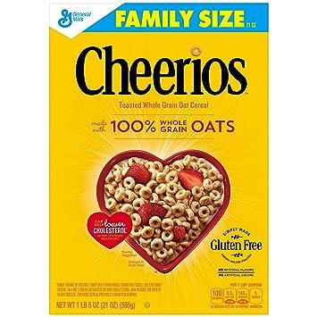 Cheerios Gluten Free Breakfast Cereal 21 oz Family Size Cereal Box  sc 1 st  Amazon.com & Amazon.com: Cheerios Gluten Free Breakfast Cereal 21 oz Family ... Aboutintivar.Com
