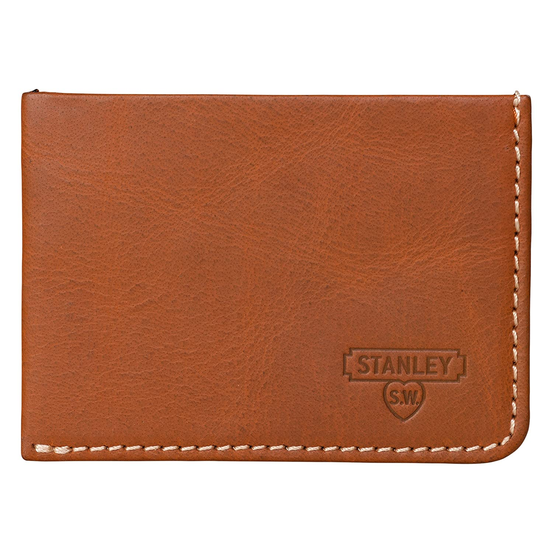 Stanley Money Clip L/&G ASTA042 Tan Wild /& Wolf Wallet