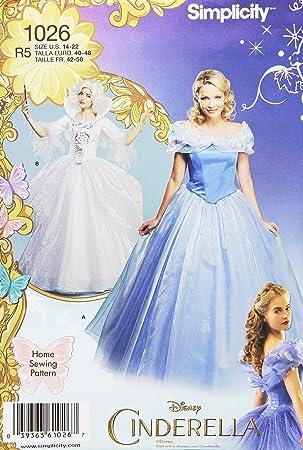 Simplicity 1026 Größe R5 Disney Cinderella und läßt Gute Fee Kostüme ...