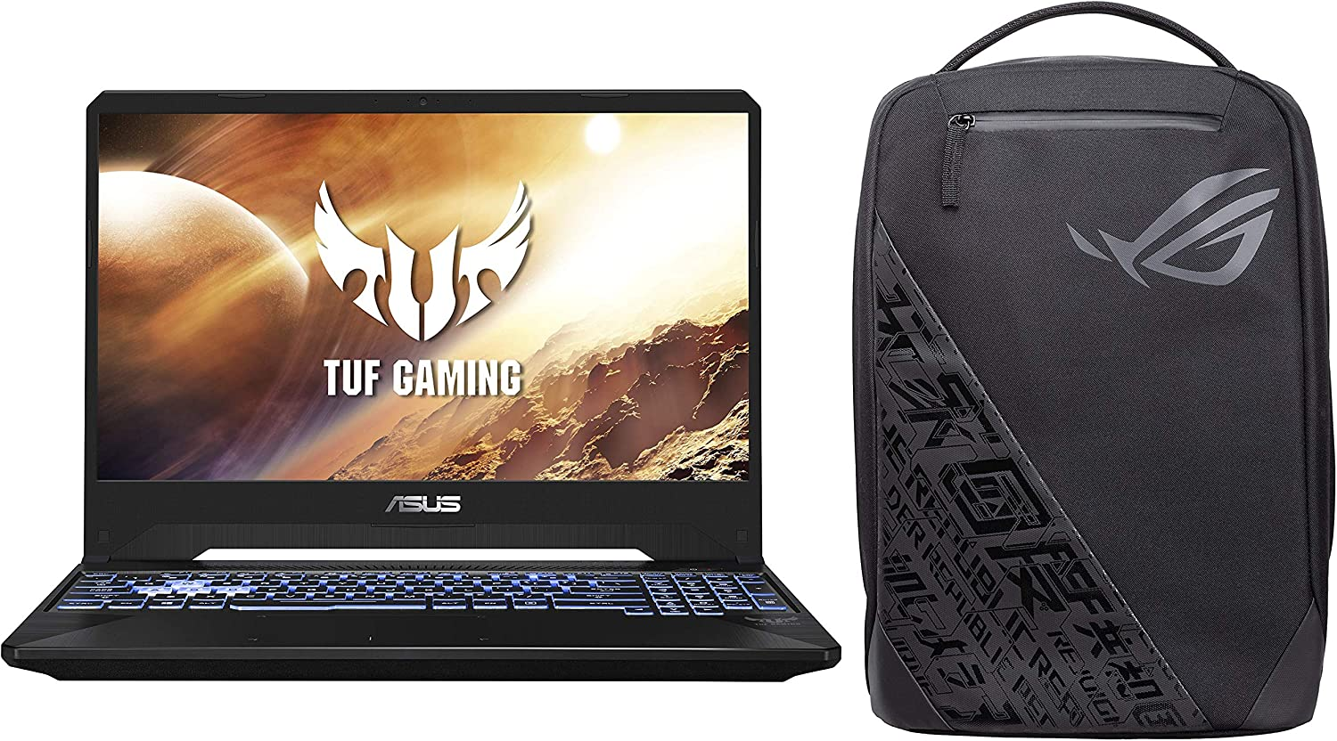 ASUS TUF Gaming FX505DT 15.6-inch FHD Laptop, Ryzen 5 3550H, GTX 1650 4GB GDDR5 Graphics (8GB RAM/1TB HDD + 256GB NVMe SSD/Windows 10/Stealth Black/2.20 Kg), FX505DT-BQ596T