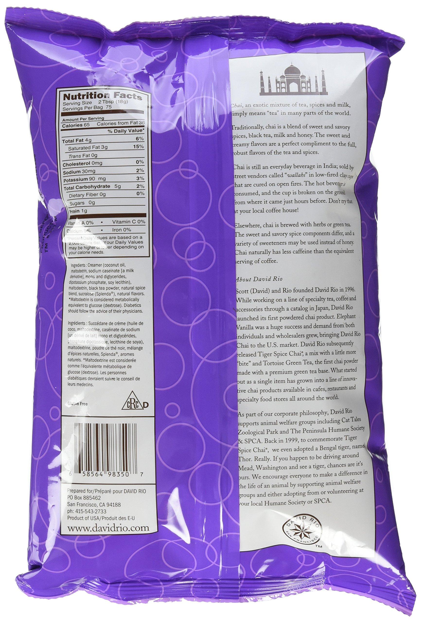 David Rio Orca Spice Sugar Free Chai, 3 Pound