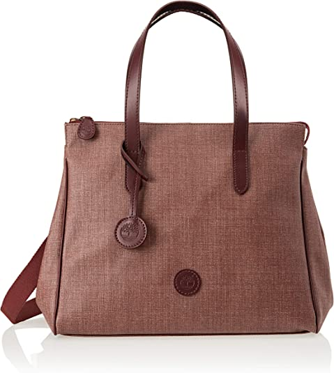 Timberland TB0M5950, Borsa a Mano Donna, Marrone (Brown