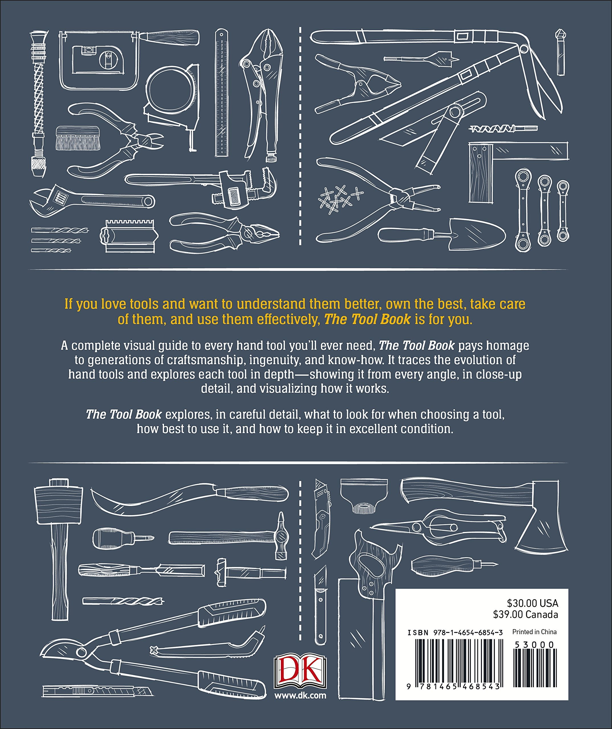 The Tool Book A Lovers Guide To Over 200 Hand Tools Amazon Diagram Free Download Wiring Schematic Phil Davy Nick Offerman 9781465468543 Books