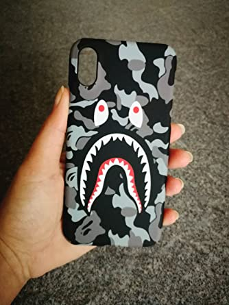 watch f4126 468eb A Bathing Ape (Bape) iPhone Protective Hard Case Cover GREY (Iphone ...