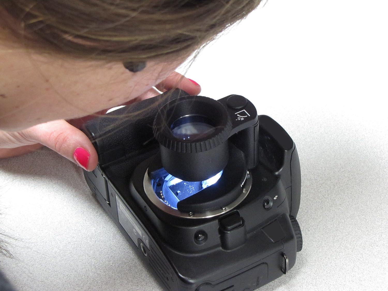 Carson Sensormag Reinigungs Lupe Für Kamera Sensor Mit Kamera
