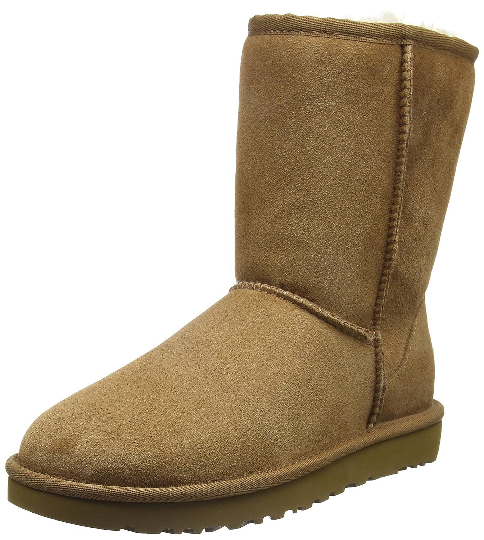 6c4eb4fd67 UGG Classic Short Ii Che, Women's Short Boots: Amazon.co.uk: Shoes ...