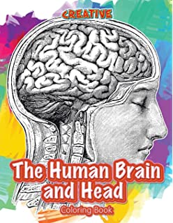 the human brain and head coloring book - The Human Brain Coloring Book