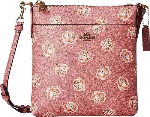 d36dde607e99 ... australia amazon coach womens messenger crossbody in floral print b4 rose  rose print one size shoes