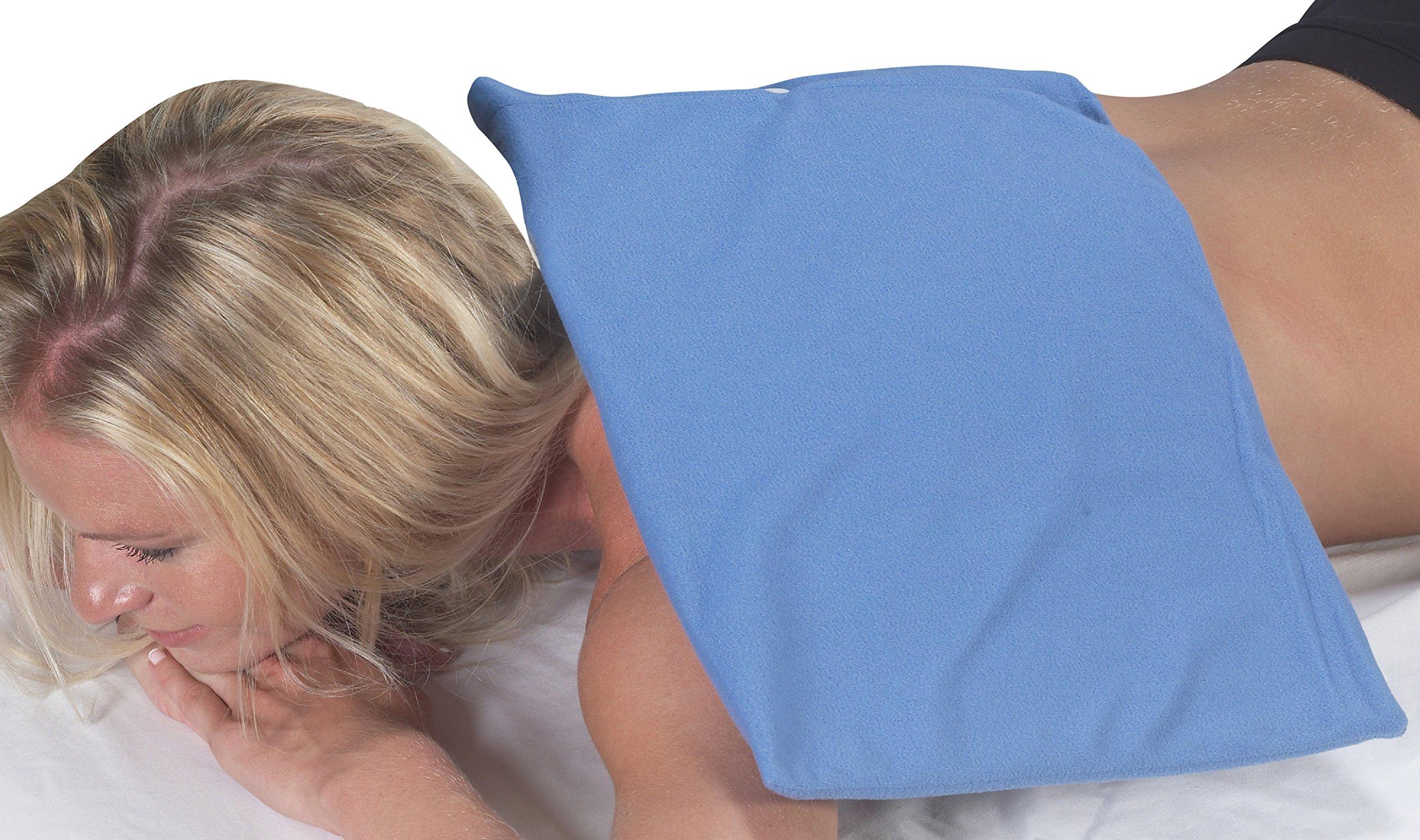 Bilt-Rite Mastex Health Moist/Dry Heat Pad 220V , Blue, King Size