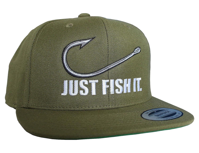 Pescatore//Basecap//Snapback//Berretto//Cappello//Parodia//Unisex//Hip Hop//Regalo pescatore Pesce Baddery Cap berretto Just fish it