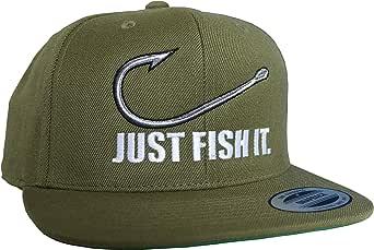 Gorra de béisbol: Just fish it - Pescado/Cap/Classic Flexfit ...
