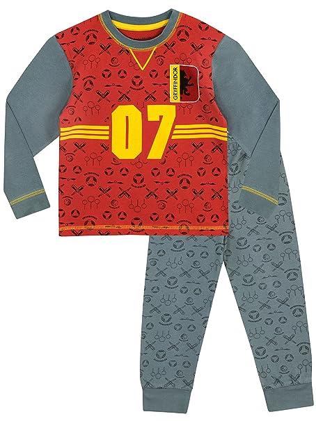 Harry Potter - Pijama para Niños - Quidditch - 10 - 11 Años