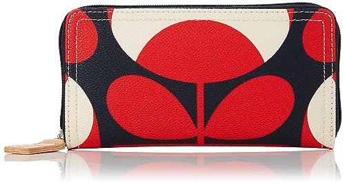 Womens Big Zip Wallet Wallet Multicolour (Ruby) Orla Kiely rByamc8B64