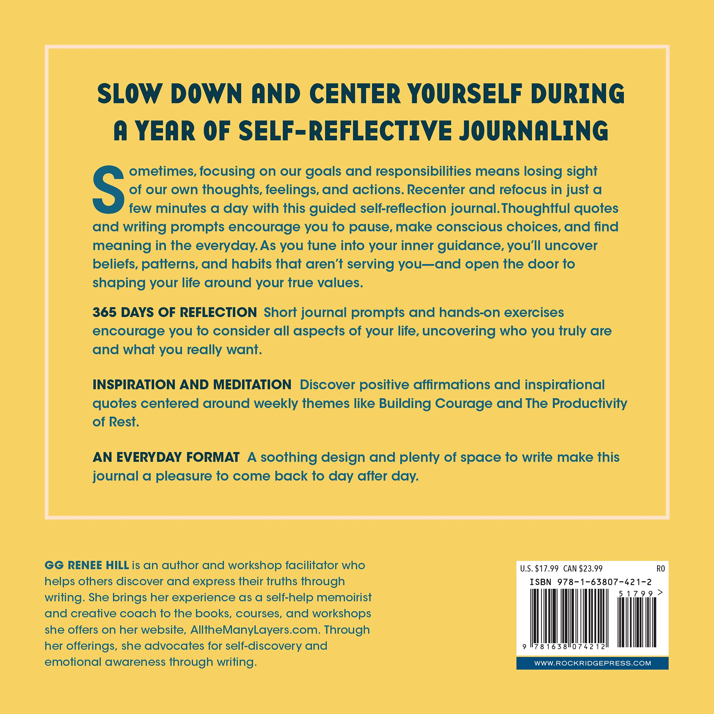 A Year of Self Reflection Journal 20 Days of Guided Prompts to ...