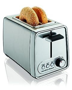 Hamilton Beach Modern Chrome 2-Slice Toaster (22791)