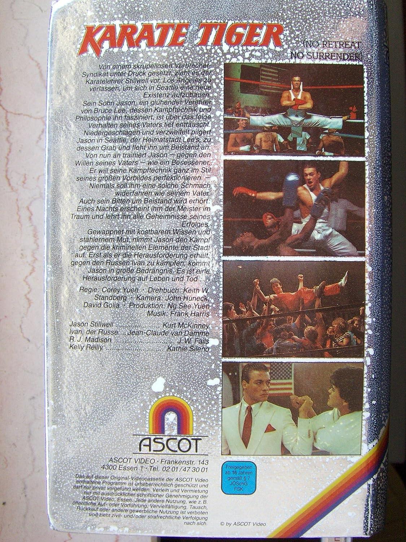 Karate Tiger - Der letzte Kampf [Reino Unido] [VHS]: Amazon.es