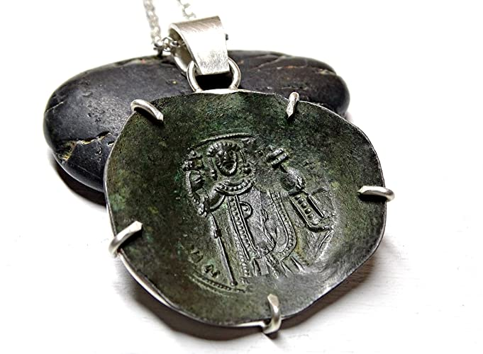 Coins & Paper Money Bizantine Silver Coin Pendant Choice Materials Coins: Ancient