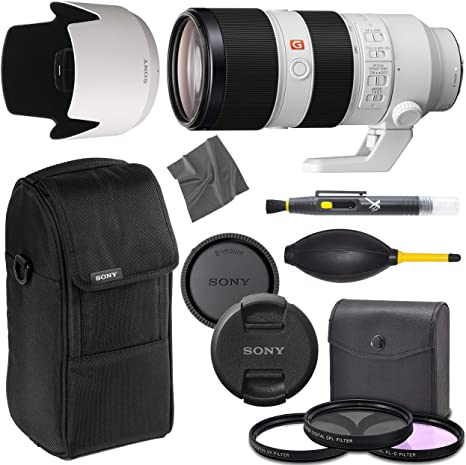 Sony FE 70-200 mm f/2.8 GM OSS: Lente (SEL70200GM) + AOM Pro ...