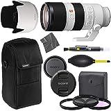 Sony FE 70-200mm f/2.8 GM OSS: Lens (SEL70200GM) + AOM Pro Starter Bundle Kit - International Version (1 Year AOM Warranty)